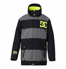 DC SHOES OVERDRIVE JACKET CAVIAR FW 2015 GIACCA SNOWBOARD S M L XL NEW
