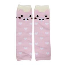 Leg Warmers Sock Kid Girl Boy Baby Stocking Filler Christmas  Present (Pink)  PS