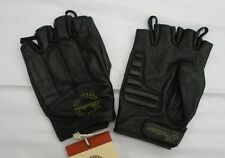 Indian Motorcycle Leather Fingerless Glove - Men's & Women's - NWT