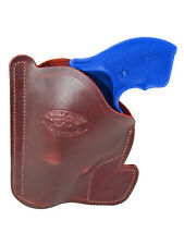 "New Barsony Burgundy Leather Pocket Holster Taurus 2"" Snub Nose 38 357 Revolvers"