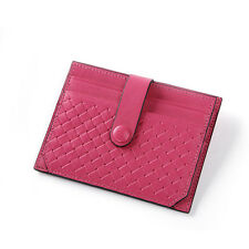 Lady Women Girl Real Leather Purse Small Wallet Credit Card Holder Coin Holder