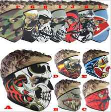 Outdoor Ski Motorcycle Snowboard CS Sport Skull Winter Warmer Full Face Mask