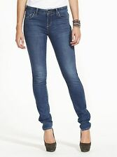 Riders by Lee Women's Jeans Bumster Super Skinny Stretch Color Royal Blue BNWT
