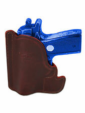 New Barsony Burgundy Leather Pocket Holster SIG Walther Small 380 Ultra Comp 9mm