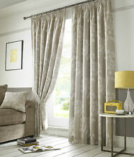 Hawthorne Linen Tape Top Pencil Pleat Fully Lined Ready Made Curtains Pair