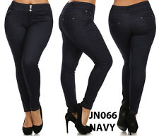 N21 WOMAN'S PLUS SIZE Denim Luxury JEGGINGS Jean Leggings Pants XL XXL JN066P