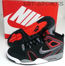 NIKE MENS TRAINERS, SHOES, AIR FLIGHT FALCON LEATHER UK 8 to 11 BLACK