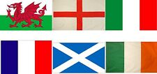 Six Nations Rugby Flags 5x3 Bunting England Ireland Wales Frances Scotland Italy