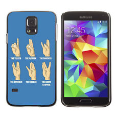 Hard Phone Case Cover Skin For Samsung Galaxy Funny Hand Signs