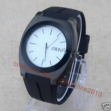 Fashion Simple Dial Silicone Men Boy Rubber Jelly Business Quartz Wrist Watches
