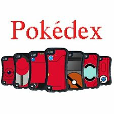 Pokedex Pokemon for Red Apple iPod Touch 5 2in1 Hybrid High Impact Phone Case