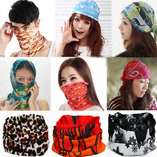 Fashion Snood Bandana Multi Head/Face Mask Use Neck Warmer Sport Running Scarf