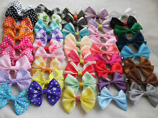 """2.2"""" Small Bow Hair Clip Alligator Clips Girls/Babies"""