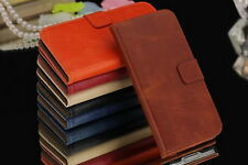 New For Samsung Galaxy Note 4 N9100 High quanlity PU Leather Wallet Case cover