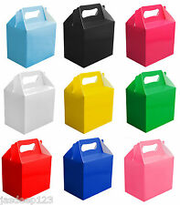 10 Childrens Party Lunch Boxes Takeaway Boxes Birthday Wedding Food Bag Meal