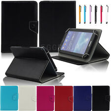 Universal Flip PU Leather Stand Case Cover For 7 Inch 10 Inch Android IOS Tablet