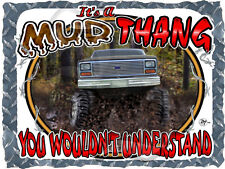 1980-1986 FORD TRUCK 4X4 MUD THANG BOGGING T-SHIRT NEW IN SIZE SMALL-4XL