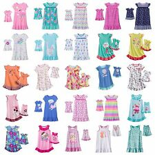 Girl 2T-7 and Doll Matching Nightgown Pajama Clothes American Girls Dollie & Me