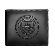 Manchester City Football Club Official Soccer Gift Embossed Crest Wallet