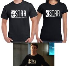 STAR Laboratories T-shirt The Flash Barry Allen TV Series Logo Tee Size S-6XL