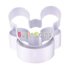 1/5Pcs Mickey Minnie Mouse Biscuit Cookie Cutter Cake Disney Baking Mould