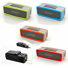 For B ose Sound Link Bluetooth Speaker Bag Case Cover Silicone/Nylon Travel