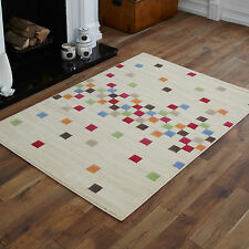 MODERN EXTRA LARGE MEDIUM MULTI COLOUR PIXEL PATTERN CHEAP AND BEST COST RUGS