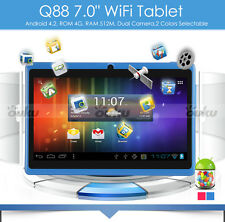 """7"""" Android4.2 Tablet PC Dual 2 Camera Dual 2 Core 32GB WiFi 1.2GHz Touch Pad"""