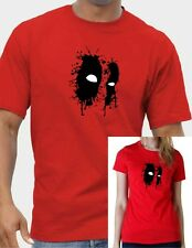 Marvels DEAD POOL MASK T-shirt .... available in sizes up to 5XL FREE UK POST