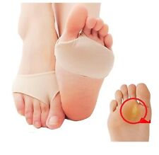 New!Forefoot Metatarsal Ball of Foot Cushion Fabric & Gel Pads Pain Relief F2480
