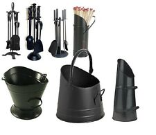 Fireside Accessories Companion Sets Fire Cast Iron Black Great Value Fireplace