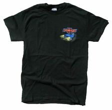 Chevrolet Chevy Retro Diner 100% Cotton Black Graphic Print Short Sleeve T-Shirt