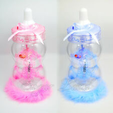Baby Shower Table Centerpiece Jumbo Bottle Favors Boy Girl Gifts Decorations