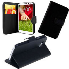 For LG G3 Mini G3S L20 Nexus 5 Wallet Book Cover Pouch Case Card Slots Stand UK