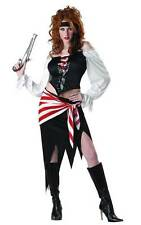 Womens RUBY The PIRATE BEAUTY costume dress Size M L XL Buccaneer Corset Skirt