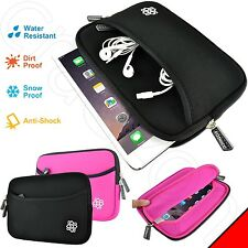 "Slim Shock Proof Water Resistant Neoprene Sleeve Bag Case Cover for 6""-7"" Tablet"