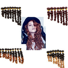 Hottest Color Human Hair Style 100% Unprocessed Brizilian Human Lady Hair Weave!