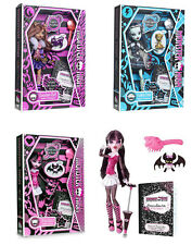 Monster High Doll - Draculaura, Frankie Stein, Clawdeen
