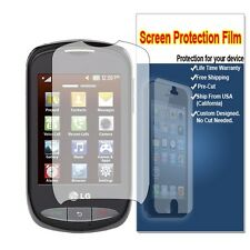 HD Crystal Clear LCD Screen Protector Film Cover For LG 800G  Tracfone/Net 10