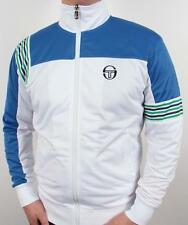 Sergio Tacchini Wilander Track Top in White, Royal & Green / XS-3XL / Exclusive!