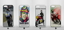 GIACOMO AUGUSTINI ITALIAN GRAND PRIX IPHONE 44s 5/5s 5c 6 6+ NEW HARD CASE COVER