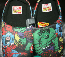 MENS LADIES PRIMARK OFFICIAL MARVEL SLIPPERS BNWT