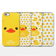 Rubber Duck iPhone 6/6s Case Cover Yellow Soft Silicone Bumper Anti-Shock 4Types