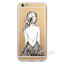 Thin Clear Various Pattern Soft Skin Case Cover For Apple iPhone 4 4S 5s 6 6Plus