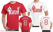 LIVERPOOL FC STEVEN GERRARD CAPTAIN FANTASIC, GIFT PRESENT T-shirt ALL SIZES !!!