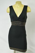 2b BEBE dress bandage black medium 219623