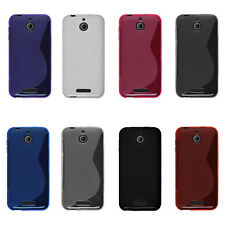 TPU Silicone Case For HTC Desire 510 -S Line Ruuber Gel Soft Matte Skin Cover