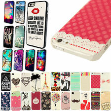 Hard Case Cover For Apple iPhone 4 4S 5 5S 5C Fashion Exquisite Painted Skin New
