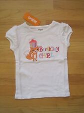 Toddler girl GYMBOREE FOX CUPCAKE BIRTHDAY GIRL WHITE SHIRT NWT 18m 24m 2t 3t