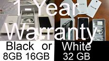 NEW Straight Talk ON Verizon iPhone 4S 8GB 16GB 32GB Black White Net10 Tracfone